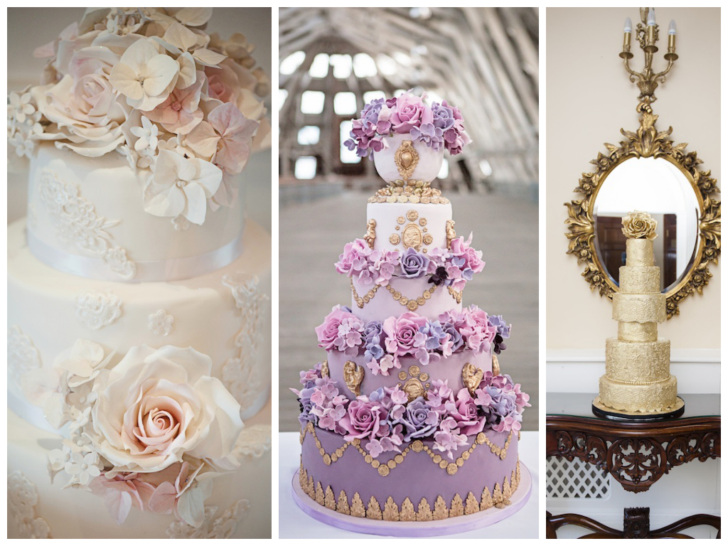 Top Wedding Cake Trends for 2014