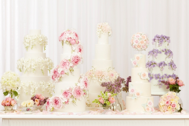 2013_01_30 Peggy Porschen_Floral wedding cake collection_Group13435