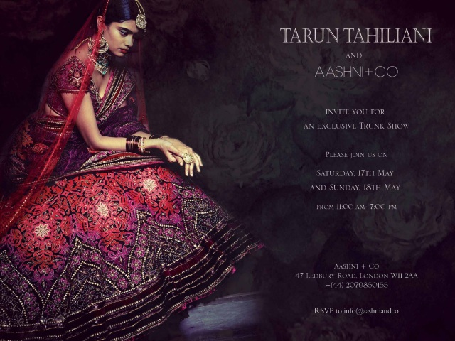 Tarun at Aashni & Co