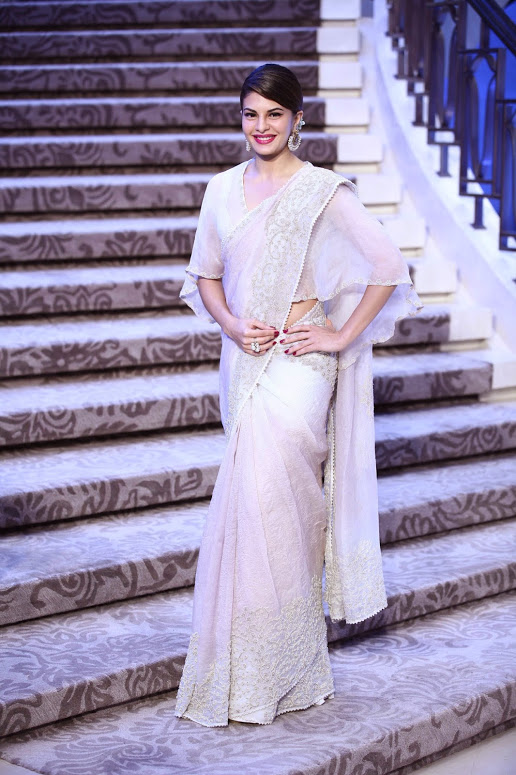 Anamika Khanna  - Sari with a twist