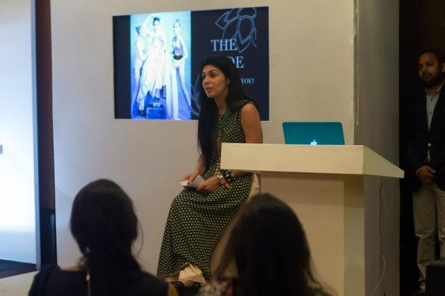 Masterclass with Vogue India Fashion Director Anaita Shroff Adajania at Vogue Wedding Show 2014, Taj Palace, New Delhi_Aug 1-3 2014_1