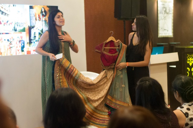 Masterclass with Vogue India Fashion Director Anaita Shroff Adajania at Vogue Wedding Show 2014, Taj Palace, New Delhi_Aug 1-3 2014_2