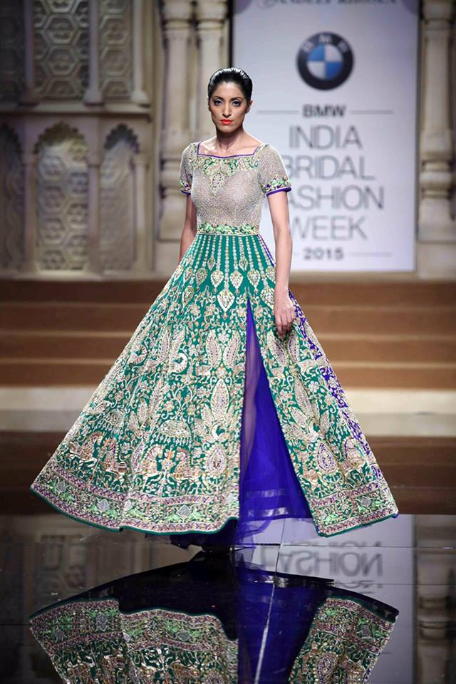 Abu Jani Sandeep Khosla At India Bridal Fashion Week 2015 Bling Sparkle